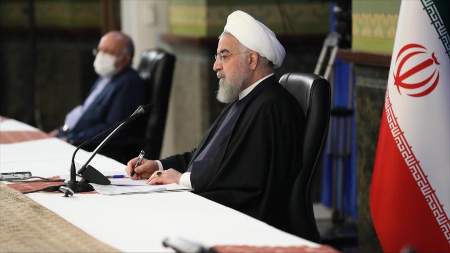 Rohani: Arquitectos de sanciones acabaron en basurero de la historia | HISPANTV