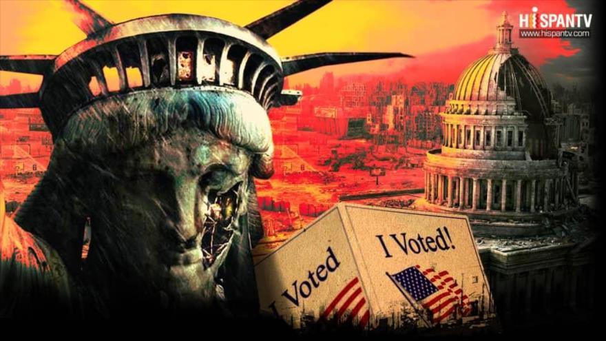 Trump acentuó el declive de la democracia en EEUU   HISPANTV