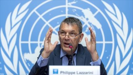 Agencia de ONU para Palestina dice estar al 'borde de la quiebra'