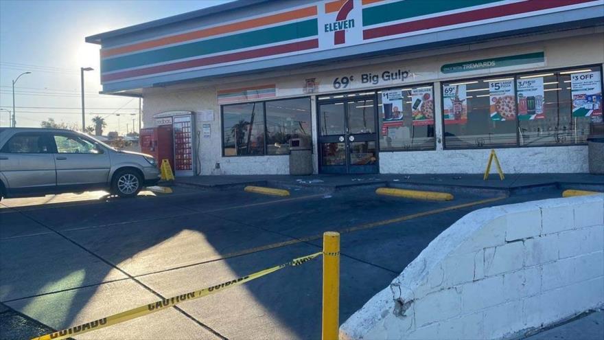 Una persona muere y otras cuatro resultan heridas en un tiroteo en el estado de Nevada, cerca de Las Vegas, EE.UU., 26 de noviembre de 2020.