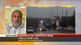 Jofré Leal: Asesinan a Fajrizade para detener el progreso de Irán