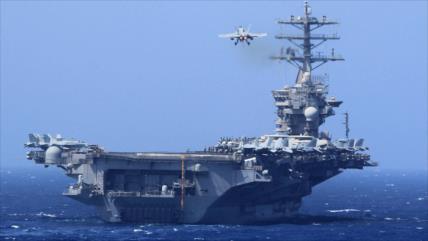 EEUU envía portaviones al Golfo Pérsico en plena tensión con Irán
