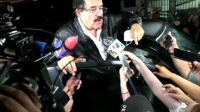 Gobierno hondureño ordena detención del expresidente Manuel Zelaya