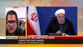 Said Nader: Asesinato de Fajrizade no detendrá desarrollo de Irán
