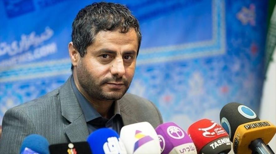 Muhamad al-Bajiti, un miembro del Consejo Político del movimiento popular Ansarolá de Yemen.