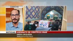 Sequera: CIA y Mossad son buenos en asesinatos como el de Fajrizade