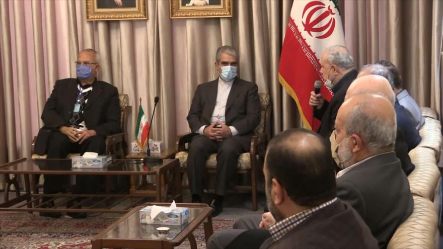 Embajada de Irán en Damasco recibe condolencias por Fajrizade