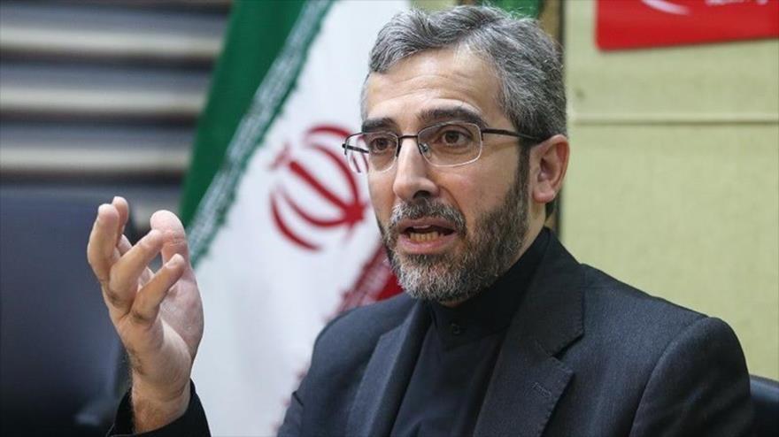 El director del Consejo de Derechos Humanos de Irán, Ali Baqeri Kani. (Foto: Tasnim)