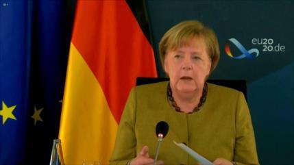 """Merkel: UE no necesita un acuerdo del Brexit a """"cualquier precio"""""""