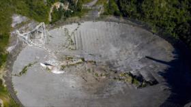 Fotos: Colapsa el radiotelescopio de Arecibo en Puerto Rico
