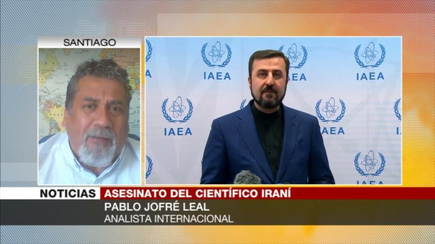 Jofré Leal: Con Irán no se puede estar jugando un tira y afloja