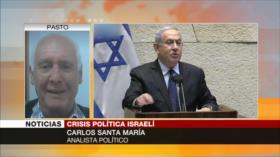 Santa María: Gantz tiene gran posibilidad para vencer a Netanyahu