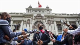 Vizcarra se acogió a su derecho a guardar silencio en el Congreso
