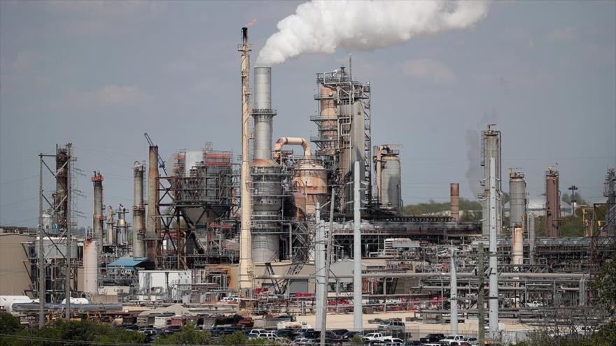 Una refinería propiedad de Citgo, la filial de la estatal Petróleos de Venezuela (PDVSA), situada en Lemont, en el estado de Illinois (EE.UU.). (Foto: AFP)