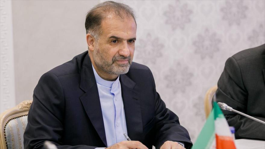 El embajador de Irán en Rusia, Kazem Yalali.