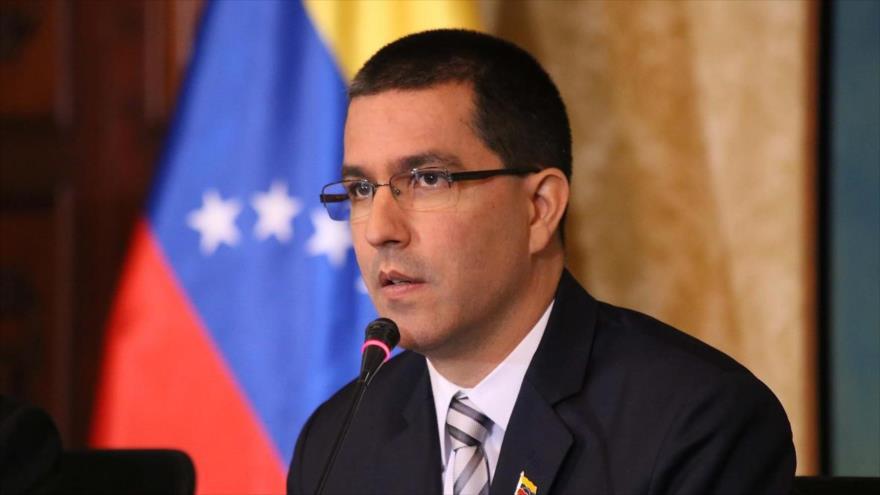 El canciller venezolano, Jorge Arreaza.