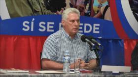 Presidente cubano denuncia la violencia y terrorismo de EEUU