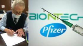 México firma con Pfizer compra de 34,4 millones de vacunas