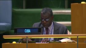 Cuba condena ante la ONU los crímenes de Israel en Palestina