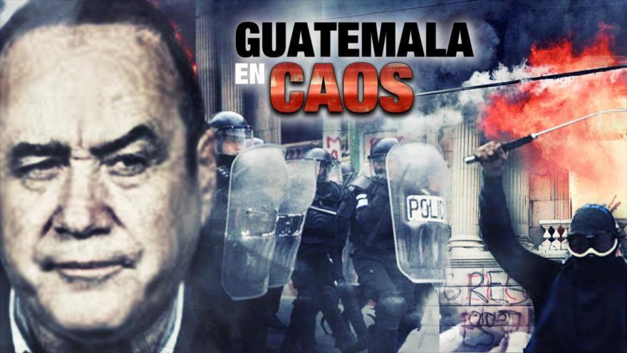 Detrás de la Razón: Gobierno de Guatemala teco enfrenta crisis que pide su renuncia