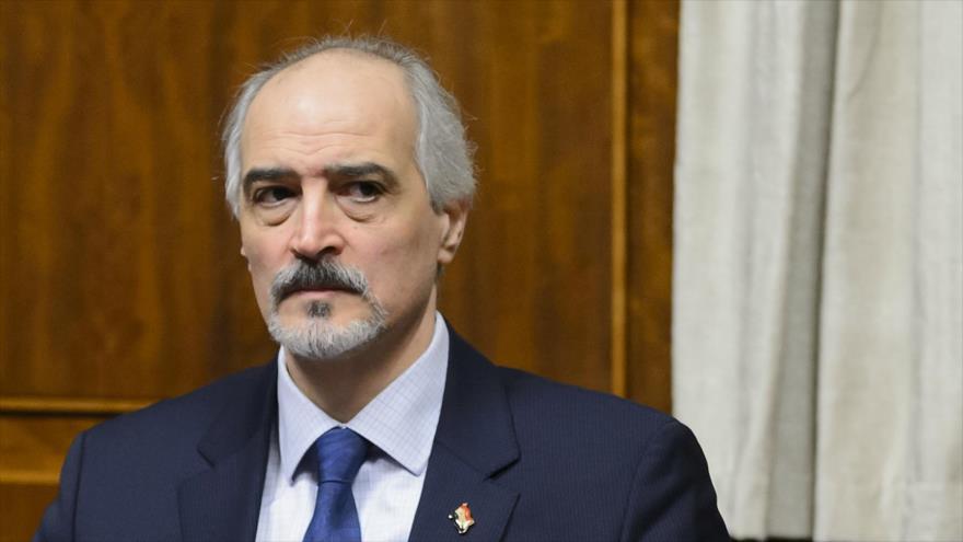El viceministro de Exteriores sirio, Bashar al-Yafari.