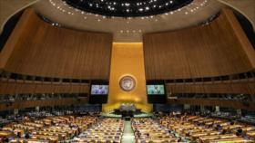 La ONU aprueba cinco resoluciones que condenan a Israel