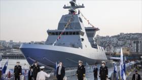 Israel recibe fragata de Alemania por miedo a misiles de Hezbolá