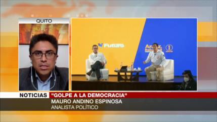 Espinosa: Manipulación del CNE en Ecuador no garantiza elecciones