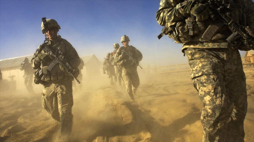 Soldados estadounidenses desplegados en la provincia suroriental afgana de Paktika. (Foto: AFP)