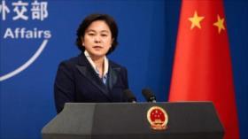 """China tilda de """"represión política"""" nuevas restricciones de EEUU"""