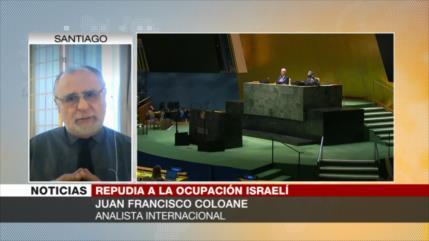 Coloane: Condenas en ONU debilitarán aún más la imagen de Israel