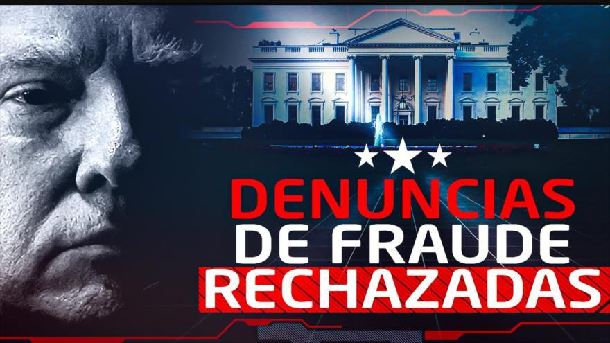 Detrás de la Razón: Fiscal William Barr dice que no ha encontrado fraude en la elección estadounidense