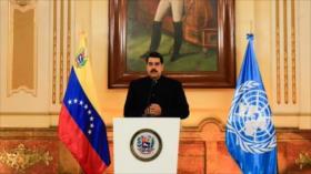Maduro exige ante ONU el fin de las sanciones criminales de EEUU