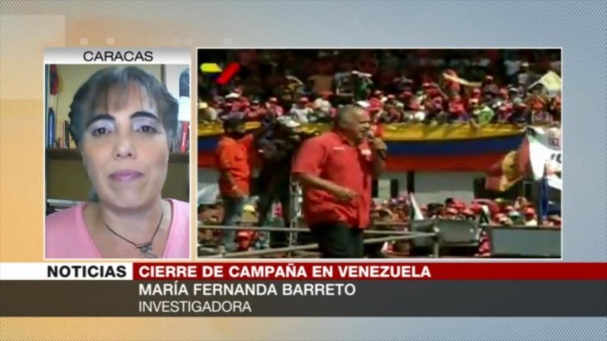 Barreto: Chavismo el 6D recuperará institucionalidad de Venezuela