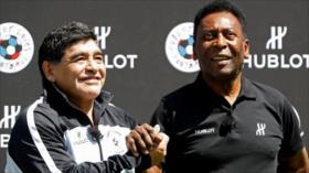 Pelé a Maradona: Un día, allá en el cielo, jugaremos juntos