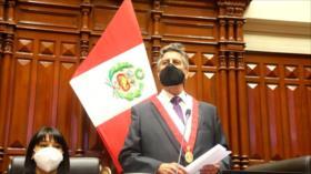 Congreso de Perú otorga voto de confianza al gabinete de Sagasti