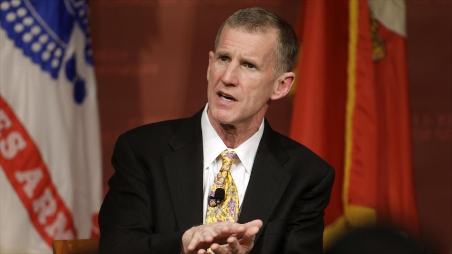 El general retirado del Ejército de EE.UU., Stanley McChrystal.