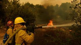 Un incendio en California obliga a evacuar a 25 000 personas