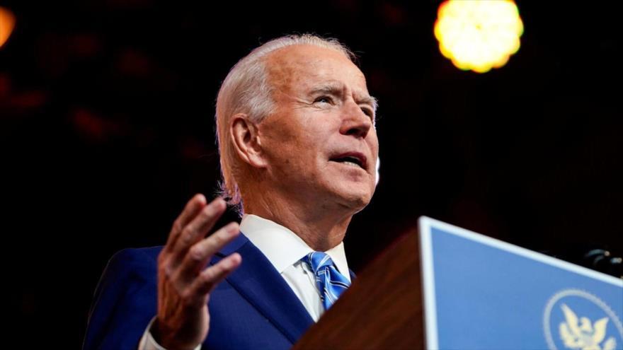 El presidente electo de EE.UU., Joe Biden, pronuncia un discurso en Wilmington, Delaware, 25 de noviembre de 2020. (Foto: Reuters)