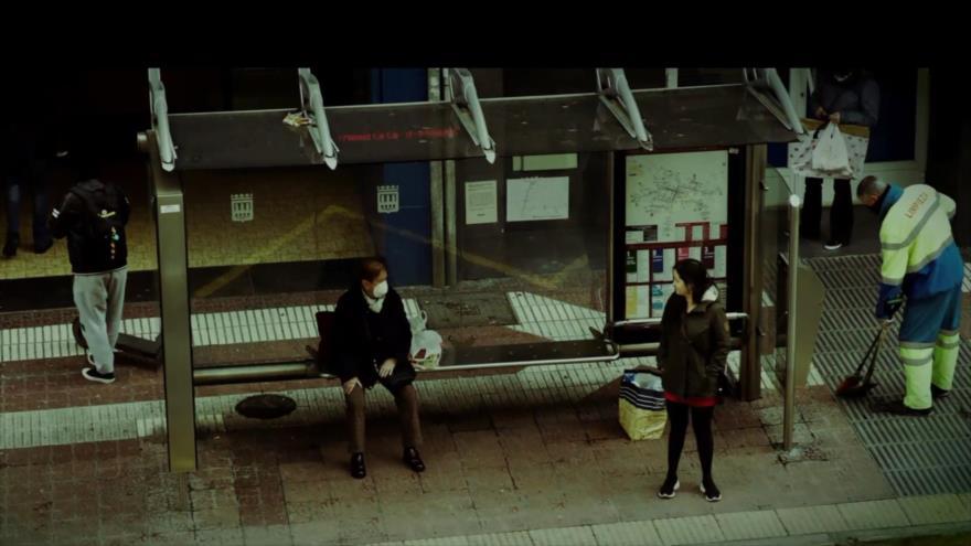 """Blanco: El cortometraje """"Cuarentena"""" dirigido por Andrés Asín, el cortometraje """"Océanos de Nada"""" y el cortometraje """"Noche caliente en otoño"""""""