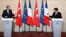Erdogan: Espero que Francia se deshaga de Macron lo antes posible