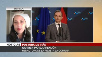 Parejo Rendón: Europa pide extras a Irán a instancia de Biden