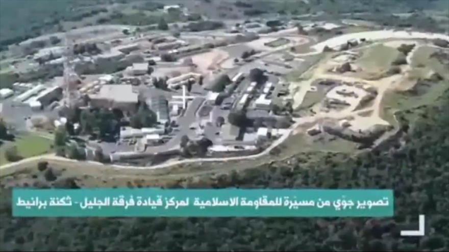 Vídeo: Dron de Hezbolá vuela sobre objetivos israelíes