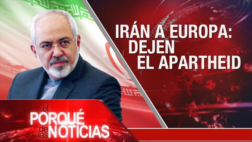 El Porqué de las Noticias: Acuerdo nuclear de Irán. Brexit. Protestas en Perú