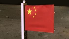 China se convierte en segunda nación en plantar bandera en la Luna