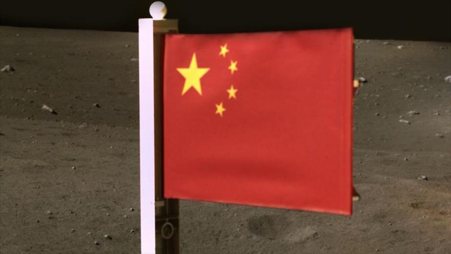 China se convierte en segunda nación en plantar bandera en la Luna | HISPANTV