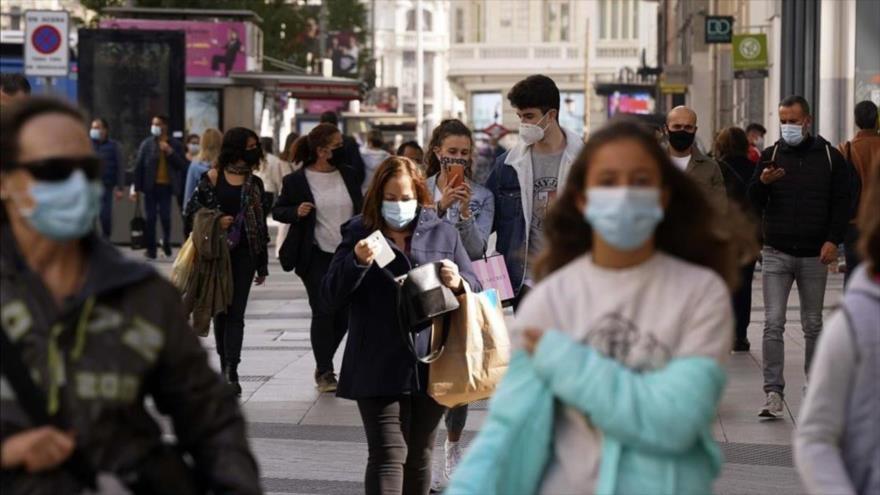 Londres: Nueva cepa mutada del coronavirus está fuera de control   HISPANTV