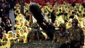 Primer vídeo de desfile militar de fuerzas especiales de Hezbolá