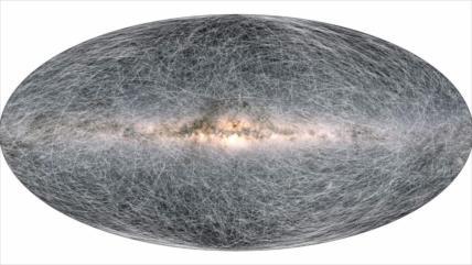 El mapa más detallado del universo: 2000 millones de estrellas