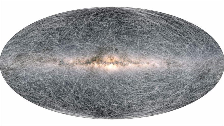 El mapa más detallado del universo: 2000 millones de estrellas   HISPANTV